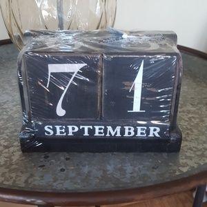 Perpetual Calendar, never opened.